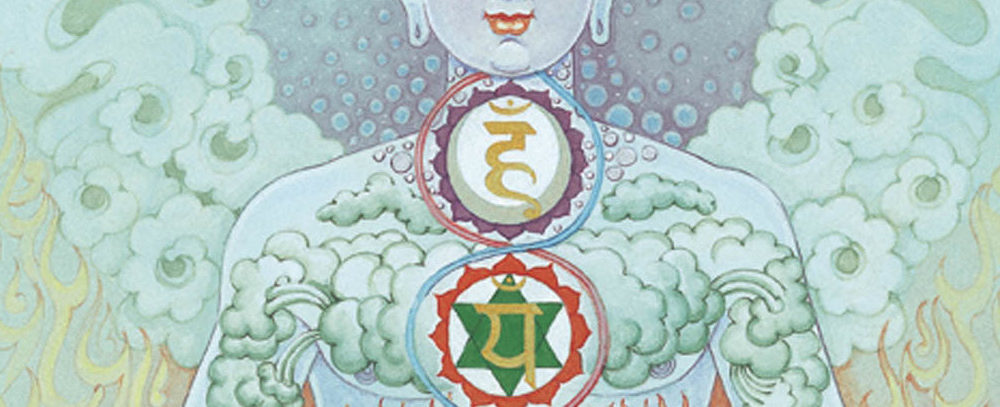 I sette Chakra. Immagine di Peter Weltevrede. http://www.sanatansociety.com/indian_art_galleries/chakras.htm