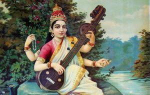 Saraswati, dea delle arti