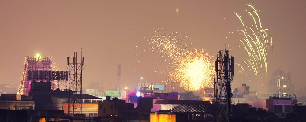 Happy Diwali. Foto di Vinoth Chandar